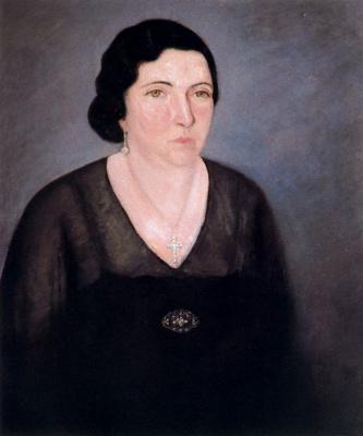 Вирхилио Бланко. Женский портрет
