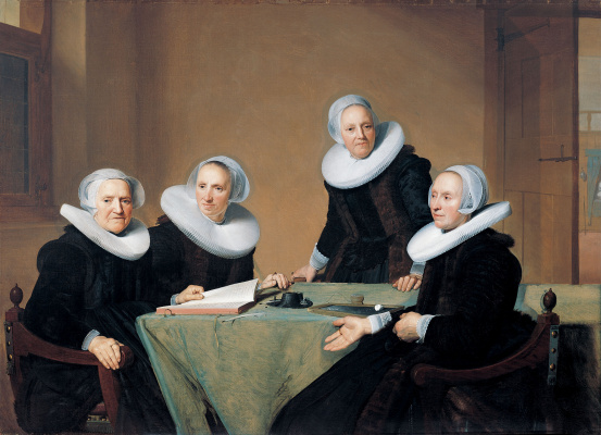 Ian Cornelis Versprop. The Regentesses of St Elisabeth's Hospital in Haarlem