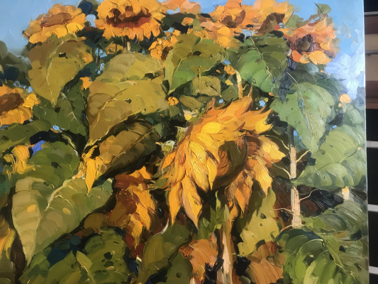 """Valeria. """"Sunflowers"""""""