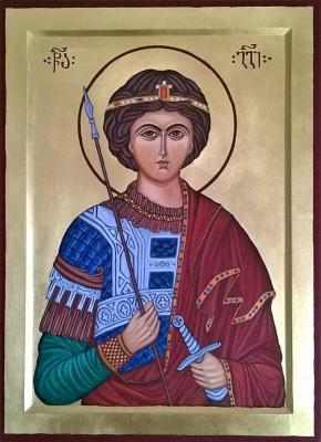 Badri Bukia. Icon of St. George