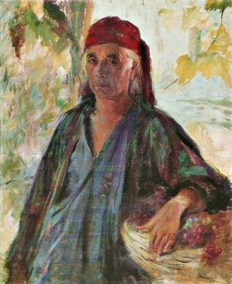 Pavel Petrovich Benkov. Collective farmer