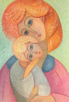 Rostislav Nikolaevich Ivanov. Mother and child
