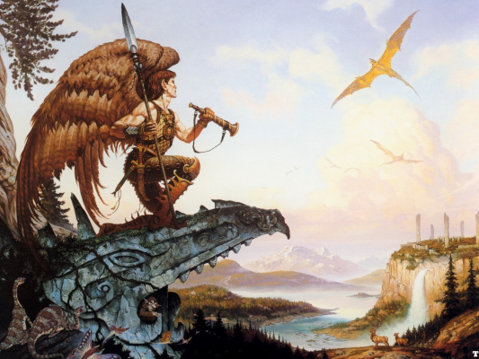 Gerald Brom. Song of the dragon