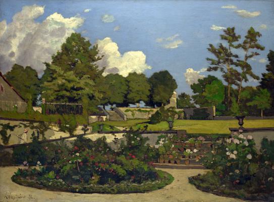 Анри-Жозеф Харпигниес. Сад художника в Санкт-Прайв