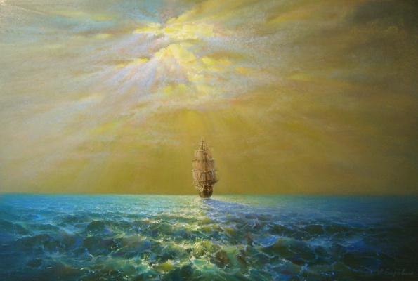 Andrei Ivanovich Boravik. Beyond the horizon