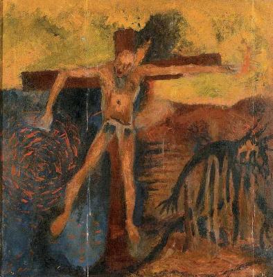 Boris Alexandrovich Golopolosov. Crucified