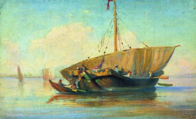 Фёдор Александрович Васильев. Лодка