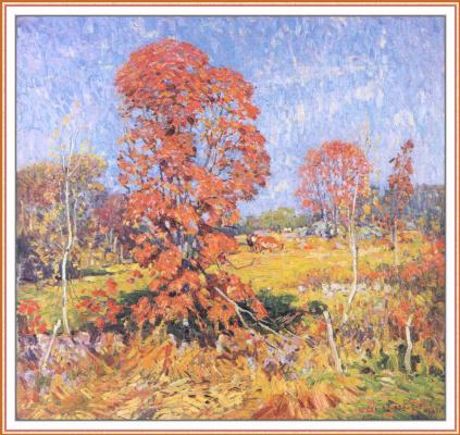Уильям Лестер Стивенс. Осенний пейзаж