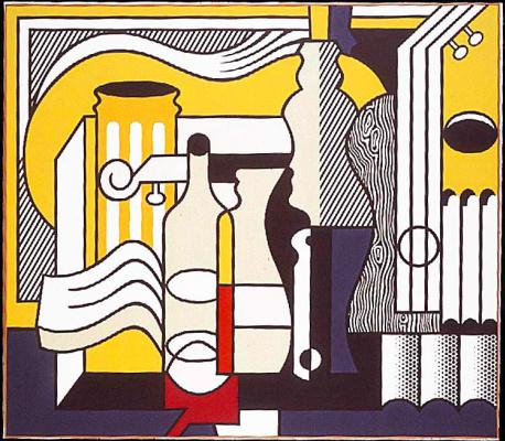 Roy Lichtenstein. Purist still life