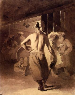 Taras Grigorievich Shevchenko. In the pub. 1856-1857 bistre.