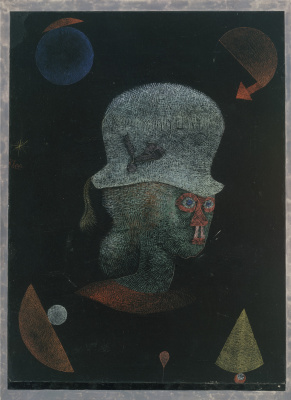 Paul Klee. Astrological fantasy portrait