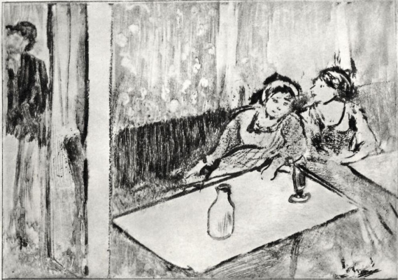 Edgar Degas. Women in a cafe