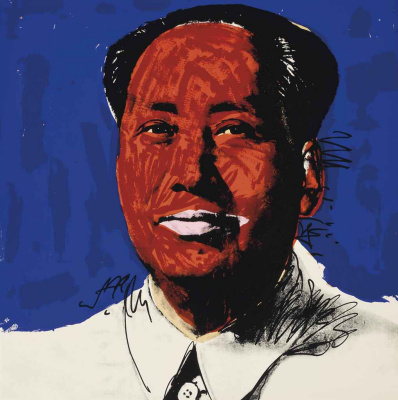 Andy Warhol. Mao