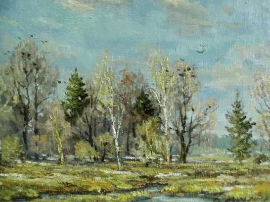 Victor Vladimirovich Kuryanov. Spring edge