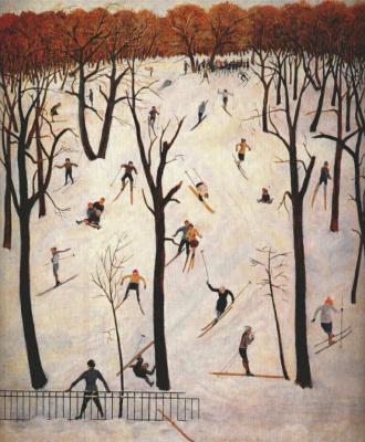 Sergey Alexeyevich Luchishkin. Skiers
