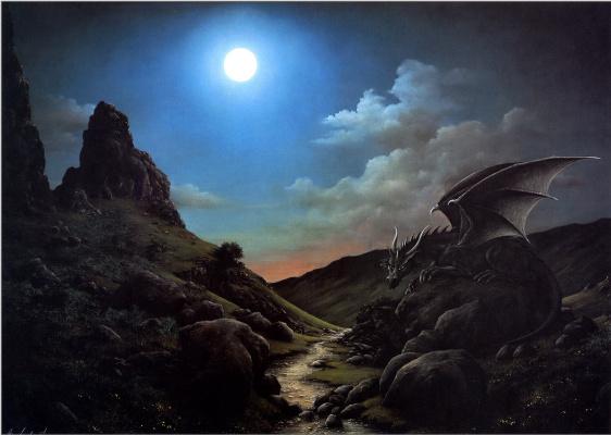 Анна Садворс. Черный дракон