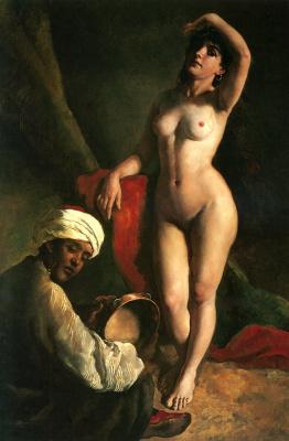 Дьюла Торнаи. Портрет дочери художника Ярославы