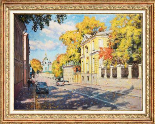 Igor Razzhivin. Autumn's last gift