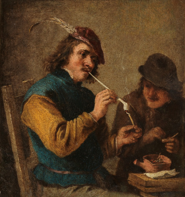 David Teniers the Younger. Smokers