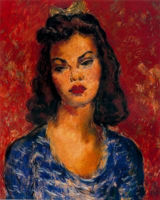 Arturo Souto. A beauty in blue