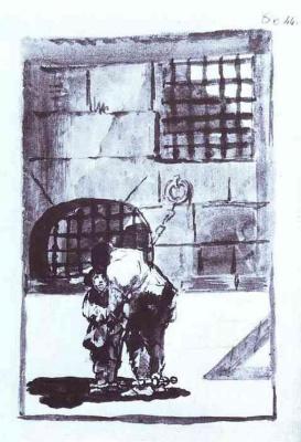 Франсиско Гойя. Заключенный в цепях