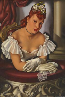 Tamara Lempicka. In the opera