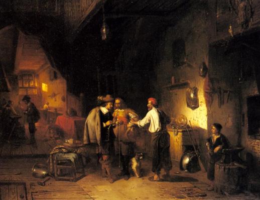 Адриен Фердинанд де Брекелер. Броня