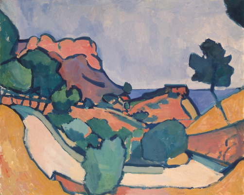 Andre Derain. The road between the mountains