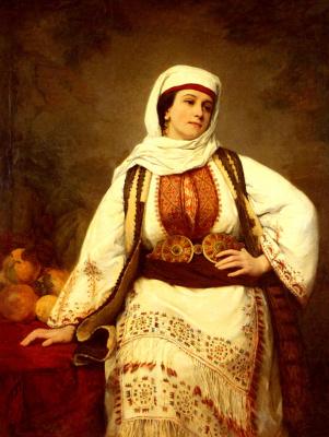 Генриетта Браун. Восточная девушка