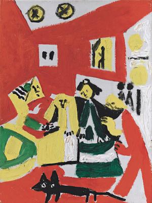 Pablo Picasso. Las Meninas. Interpretation No. 39