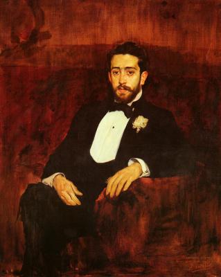 Joaquin Sorolla. Portrait of lawyer don Silverio de La Torre and Aguja