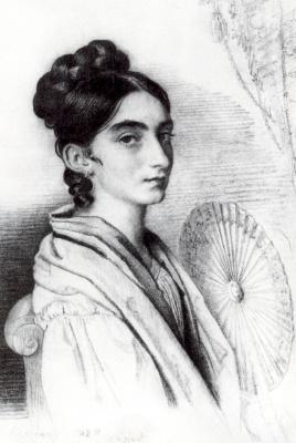 Orest Adamovich Kiprensky. Portrait of Countess Sofia Alexandrovna Golenischeva-Kutuzova