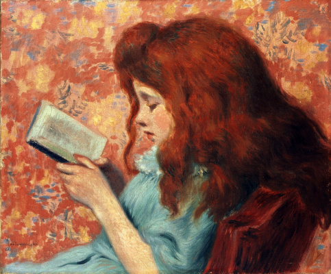 Federico Zandomenegi. Redhead girl