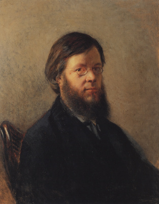 Nikolai Nikolaevich Ge. Portrait Of A. N. Pypina