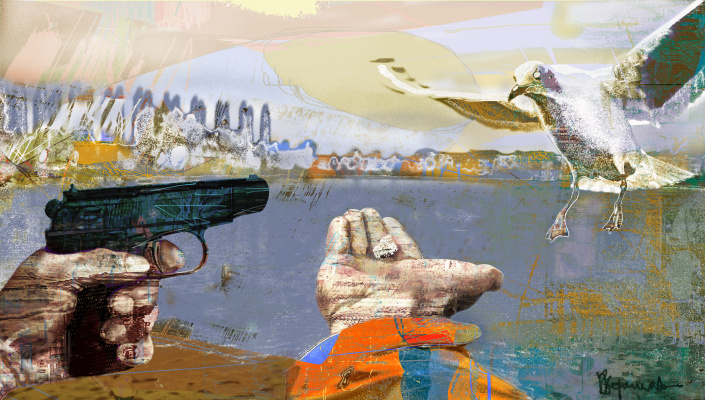 Vladimir Evgen'evich Koreshkov. On the coast ..... Post-abstractionism