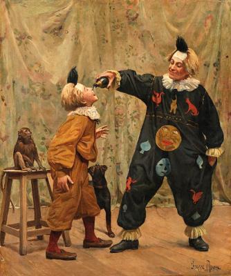 Paul Charles Shokarn-Moro. In the circus