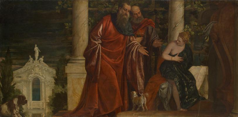 Paolo Veronese. Susanna and the Elders