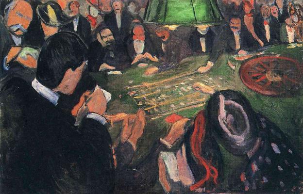 Edvard Munch. Roulette