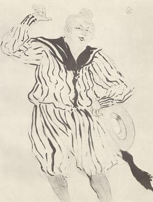 Henri de Toulouse-Lautrec. Sailor's song