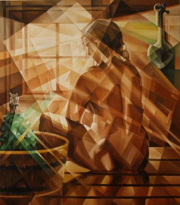 Vasily Krotkov. Ondine. Kubofuturizm