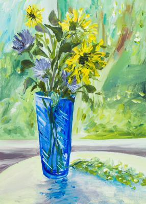 Tatyana Ласовская. Blue Vase