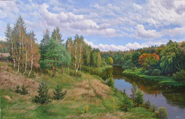Alexander Vasilyevich Zoryukov. Bolva. September