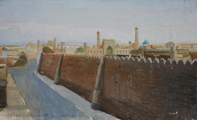Gennady Shotovich Bartsits. Khiva, study
