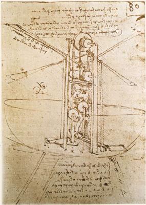 Leonardo da Vinci. Aircraft