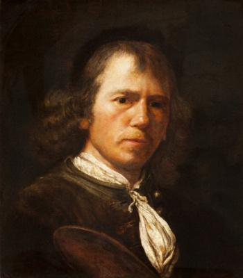 Самюэл ван Хогстратен. Портрет художника
