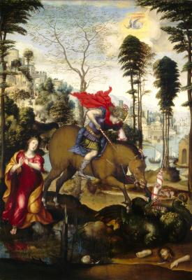 Содома. Святой Георгий и дракон