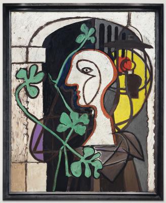 Pablo Picasso. La Lampe