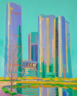 """Nikolay Nikolayevich Aksenov. """"Landscape - N 15"""""""