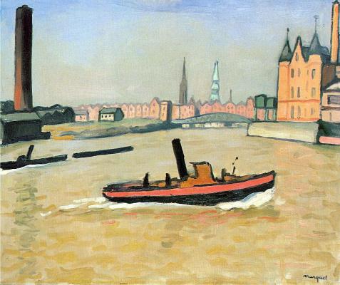 Albert Marquet. Boat
