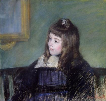Mary Cassatt. Marie-Therese Gaillard